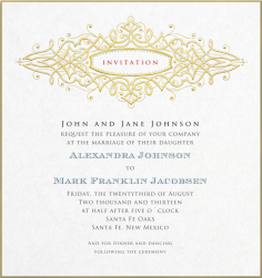 Formal Invitation Cards Templates Memberpro Co