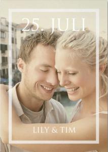 Foto Hochzeitskarte für Was ist Ihr Hochzeitsstil.