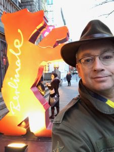 Gründer Patrick besucht Checkin bei der Berlinale 19