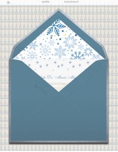 Animierte GIF Karte für Weihnachtsgrüsse