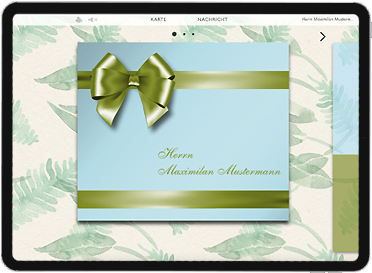 Gutscheine in einem echten virtuellen Geschenk digital verpacken