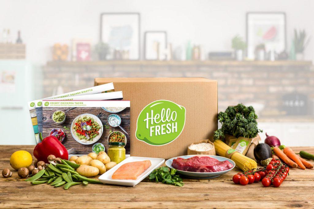 Gutscheine für Essenslieferanten wie Hello Fresh verschenken