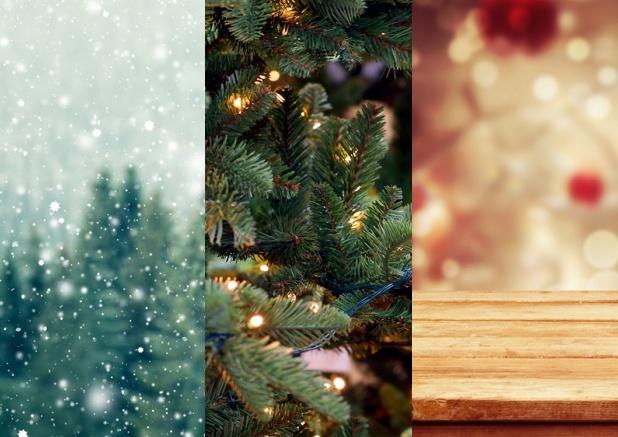 drei foto spalten weihnachtskarten gesch ftlich. Black Bedroom Furniture Sets. Home Design Ideas