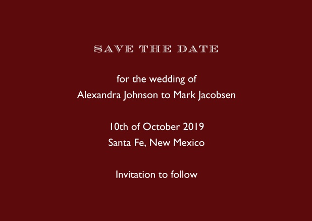 save the date 2019 wedding save the dates