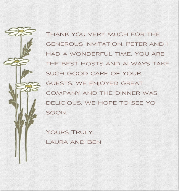High Grey Spring Modern Chic Card with White Lilies.