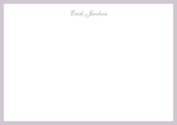 Gedenkkärtchen Bordeaux - trauer-dankeskarten