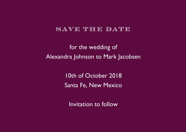 save the date 2018 wedding save the dates