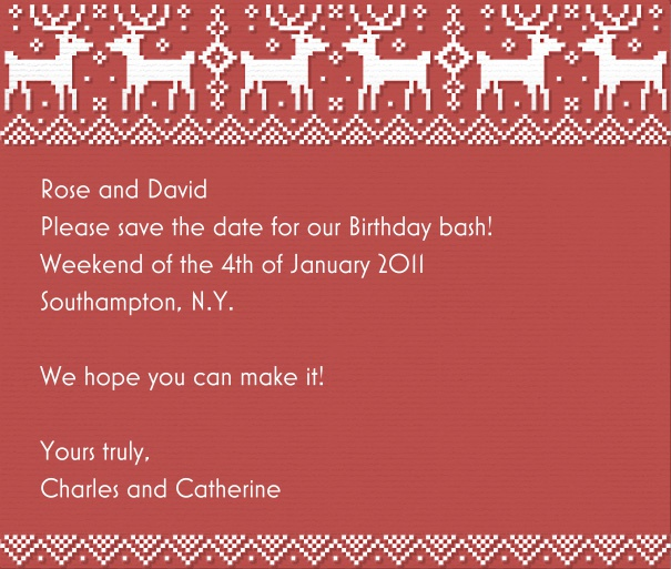 Christmas Save The Date Cards.X Mas Sweater