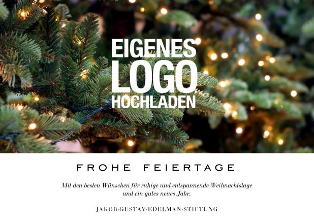 Weihnachtskarten Mit Firmenlogo.Warhols Gemälde