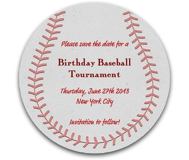 online save the date template free - baseball match baseball