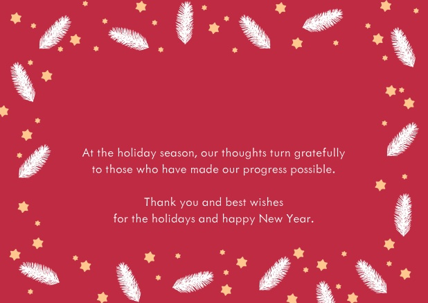 Featherlight Dots Christmas Cards Corporate