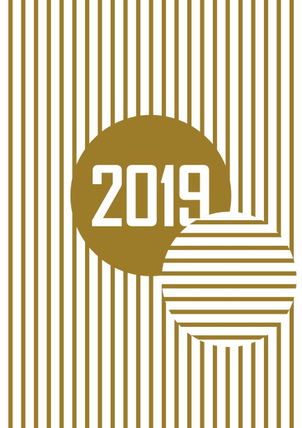Golden Stripes 2019 New Years Eve