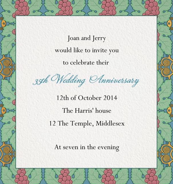 Dinner Invitations Online Invitation