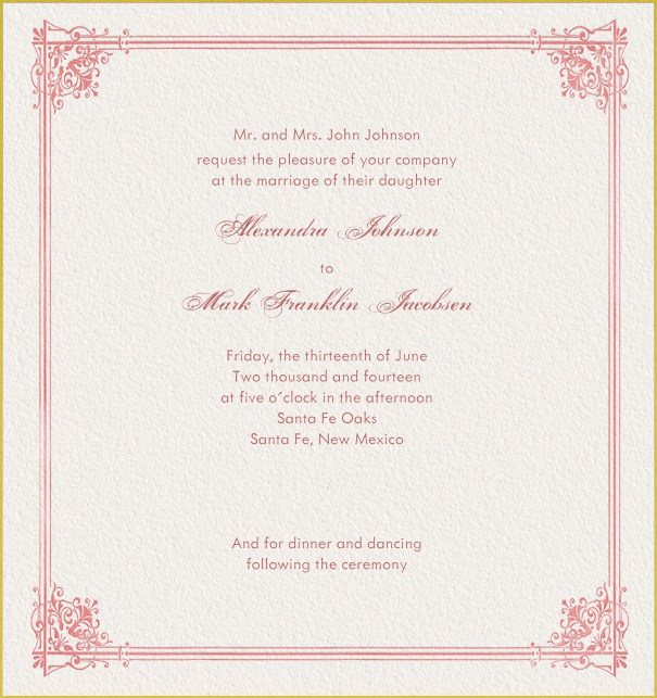 Wedding Invitations Online.Baroness Online