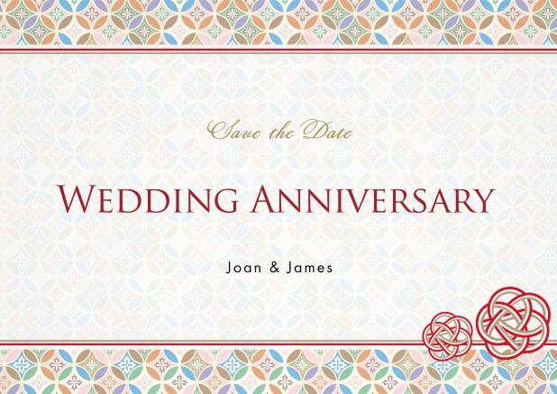 Create Wedding Anniversary Card Online. Wedding Anniversary ...