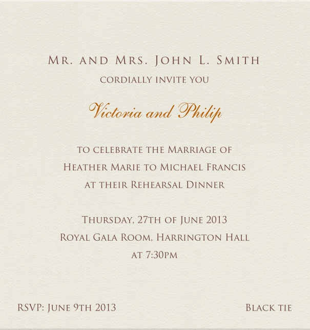 Ball in birmingham classic invitation cards paper color formal corporate invitation with no border stopboris Gallery