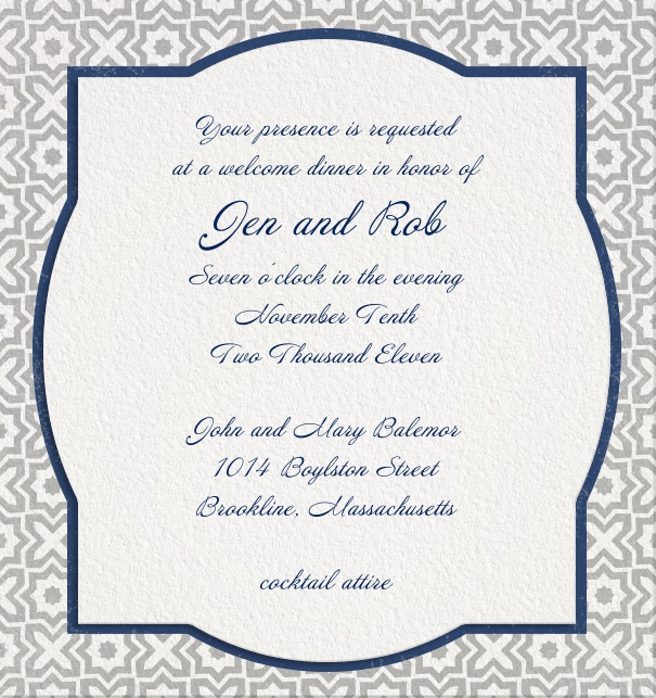 Wedding Invitations Online.Arabesque Os Xs