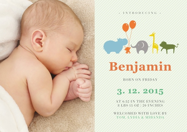 baby announcements make your own birth announcements