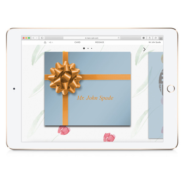 giftbox on ipad