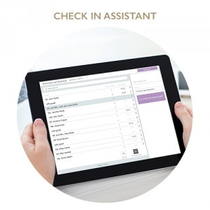 Professional Check in assistant