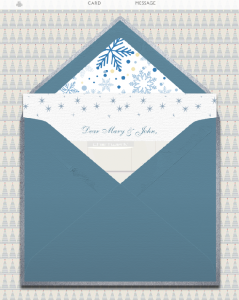 Cards with animated GIF inside animated envelopes